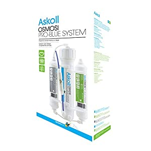 Askoll 001737 Sistema Osmosi Inversa Agua Osmotica 50 Galones Acuario 190 L