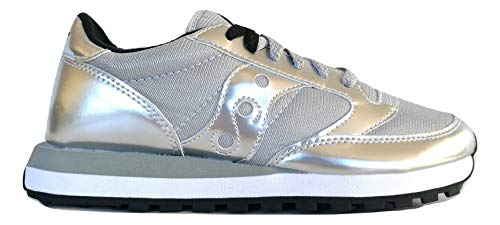 Saucony Sneaker Tessuto Tecnico e Pelle con para in Gomma Bicolore e Logo Laterale e Frange Applicabili SAU1044 461