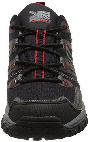 Karrimor Adventure Weathertite, Chaussures de Randonnée Basses Homme Noir (Black)