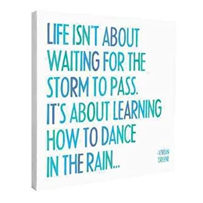 Dance In the Rain Wall Canvas