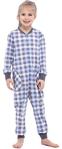Merry style pigiama intero bambina e ragazza ms10-186(grafite quadretti, 146-152)