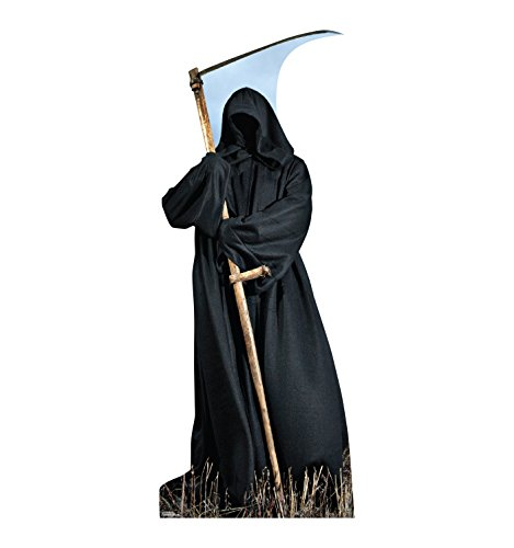 Advanced Graphics Outdoor-Figuren, Halloween-Aufsteller und Hofschilder One Size Grim Reaper