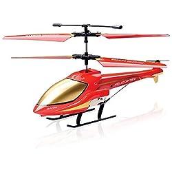Helicópteros de radiocontrol, Helicóptero RC Aviones con Control Remoto Avión 3.5CH Infrarrojo Mini Drone con Giroscopio