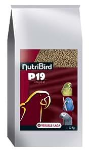 Nobby - 20217 / Nutribird P19 Original - Graines pour oiseaux - 10 kg