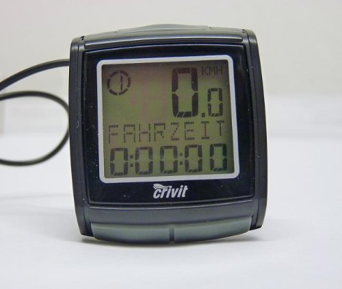 LCD Fahrradcomputer Radcomputer Fahrrad Computer Tacho 30 Funktionen