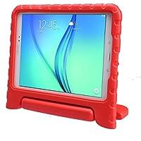 LEADSTAR Kinds Funda para Samsung Galaxy Tab A 9.7 caso niños EVA destinado a prueba de golpes cubierta estuche protector caso para Samsung Tab A SM-T550 P550 9.7 Pulgadas - Rojo