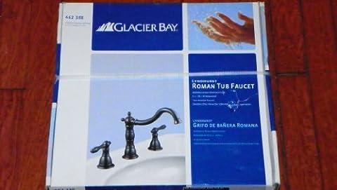 Glacier Bay Lyndhurst 2-handle Deck-mount Roman Tub Faucet in Mediterranean