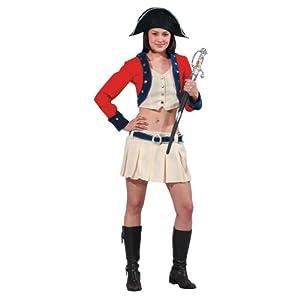 Dress up America -  Disfraz de Soldado Colonial : Talla L