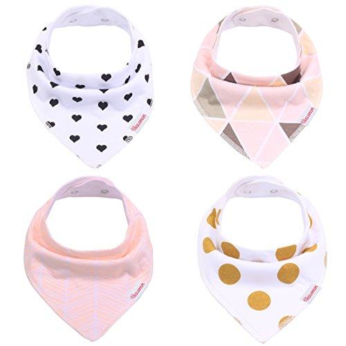 kolamom-baby-bandana-drool-bibs-4-pack-absorbent-100-cotton-bib-for-girls-for-boys-blush-set