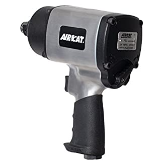 AIRCAT 1777 Super Duty Impact Wrench, Small, Silver by AIRCAT
