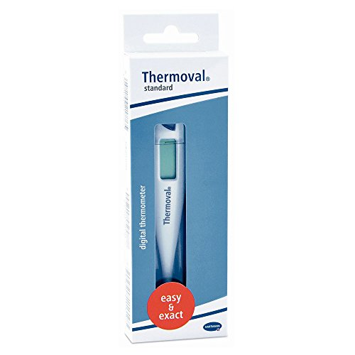 1x Hartmann Thermoval® Standard Fierberthermometer digital Thermometer LCD, akustisches Signal -