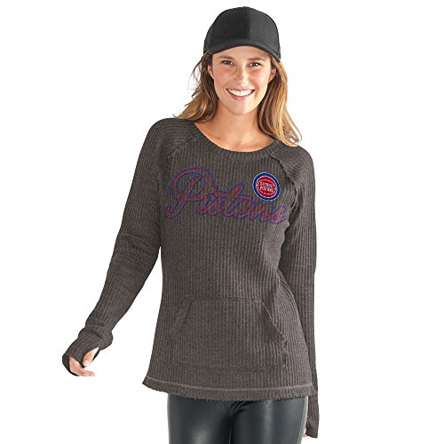 GIII For Her Off Season Pull über, Damen, Hardwood Classic Off Season Pull Over, anthrazit, X-Large