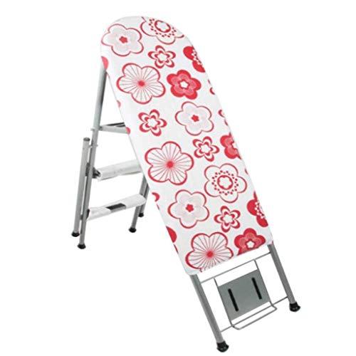 LQQGXL LQQGXLExperten-Bügelbrett Bügelbrett, Bügeltisch der Haushaltsbügelstange mit Klappleiter Bügelbrett Regal (Color : C)