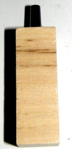 Lindenholzausströmer eckig, 45x15x15 für Aquarium, Sauerstoffzufuhr, auch für Meerwasser