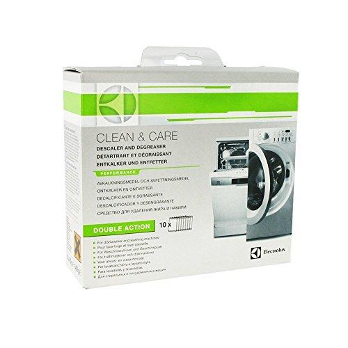 Electrolux 9029791267 Clean and Care Box - Producto de limpieza y descalcificador para lavadoras y lavavajillas