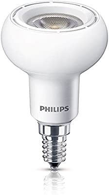 Philips LED Reflector (regulable) 8718291192923 - Lámpara LED (Blanco cálido, Color blanco, A, AC, 220 - 240 V, 50 - 60 Hz, 5,1 cm)