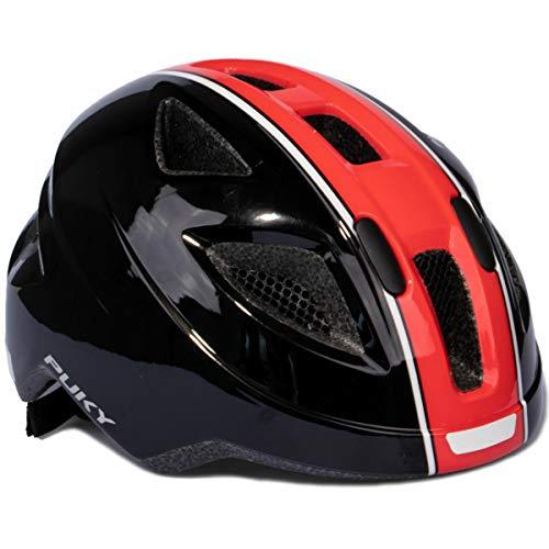 Puky PH 8 Kinder Fahrrad Helm Gr.51-56cm schwarz/rot
