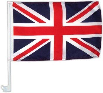 Autofahne Autoflagge Großbritannien - Union Jack 30 x 45 cm