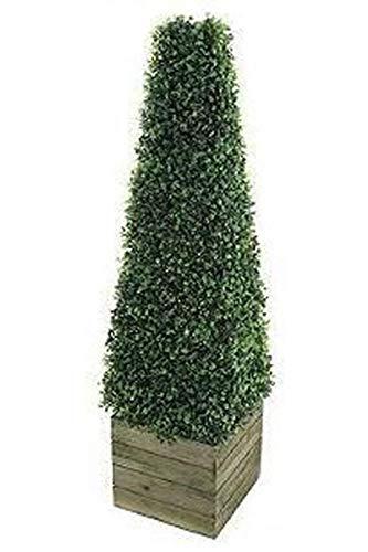 Pianta artificiale da 0,91 m, piramide a cono - albero di Natale artificiale per interni - Per Arte Topiaria