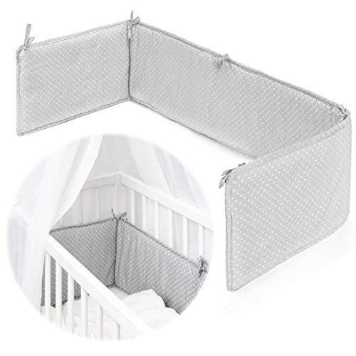 Fillikid Protector barrotes para minicuna de colecho/Chichonera para cuna adosada de bebé con superficie...