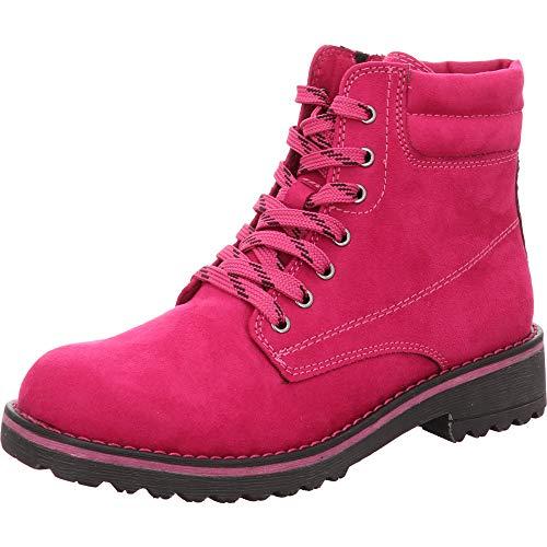 MARCO TOZZI Damen 26231-21 Combat Boots, Pink (Fuxia 589), 39 EU