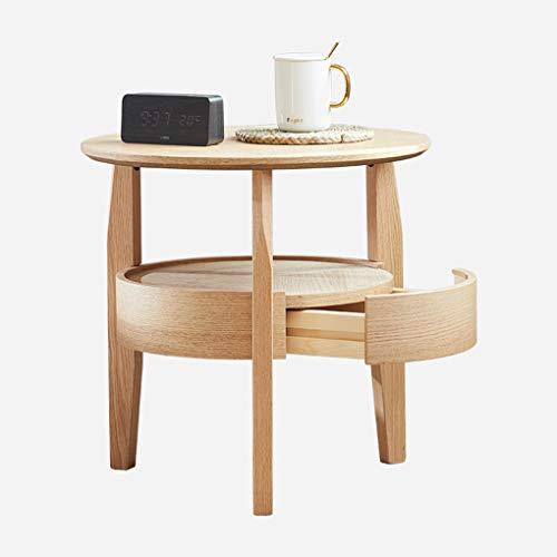 Con contenitore tavolino da salotto personalità nordico struttura in legno massello soggiorno camera da letto tavolino