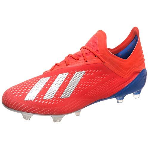 uk availability 66298 d6bf9 adidas Performance X 18.1 FG Fußballschuh Herren rot Silber, 8.5 UK - 42 2