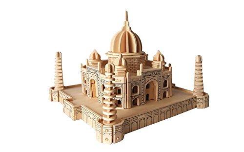 ETNA Ilawa Taj Mahal 3D Holzbausatz Moschee Tadsch Indien Holz Steckpuzzle Holzpuzzle Bauwerk P210