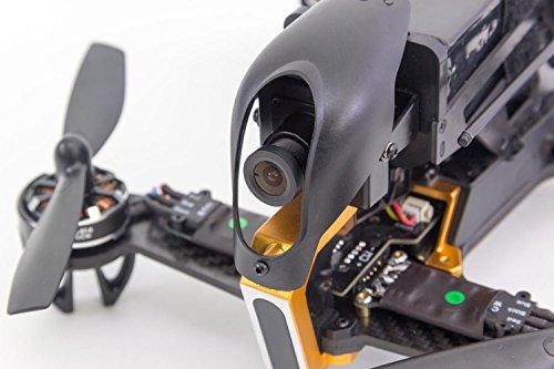XciteRC 15003900 - FPV Racing Quadrocopter F210 RTF mit Sony HD Kamera, OSD, Akku, Ladegerät und Devo 7 Fernsteuerung, weiß - 4