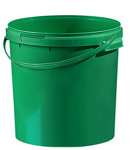 Cubo de plástico colores/cintura 21