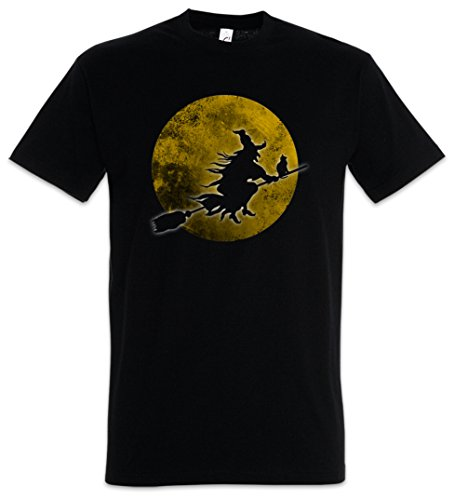 (Urban Backwoods Witch Moon T-Shirt - Größen S - 5XL)