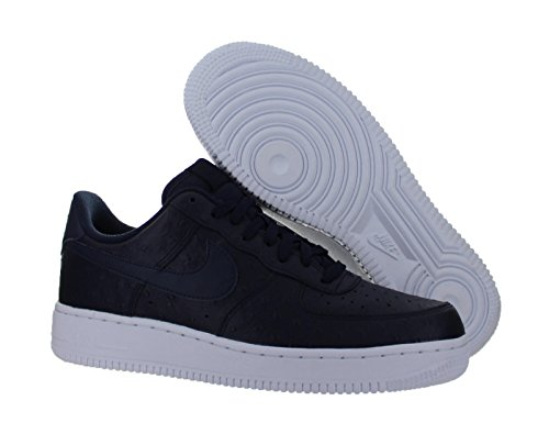 Nike Air Force 1 '07 Lv8, Sneakers basses homme Multicolore - Azul / Blanco (Obsidian / Obsidian-White)