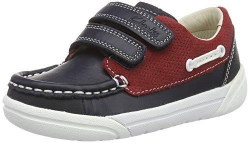 Clarks Lilfolkfun, Chaussures Bateau Garçon
