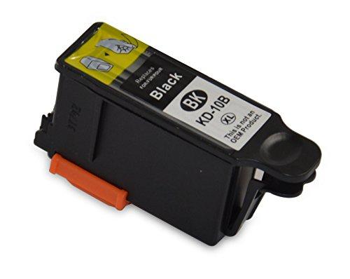 Bubprint Druckerpatrone kompatibel für Kodak 10XL für Easyshare 5300 5500 ESP 3 3200 3250 5 5200 5220 5250 7 7250 9250 office 6150 Hero 7.1 9.1 Black - Kodak Drucker 3250 Tinte