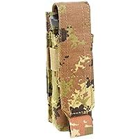 5 DEFCON cartuchera para 1 Pistola de Cartucho, 15 x 5 cm, D5-PM01-VI