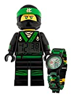 THE LEGO NINJAGO MOVIE Lloyd Watch and Clock Bundle