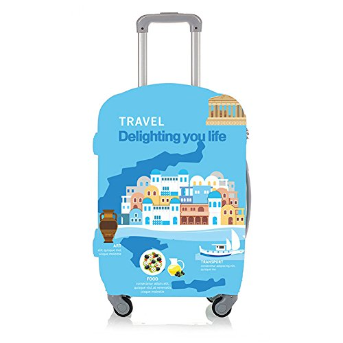 Wildlead Thicken Luggage Waterproof Cover Suitcase Protector Trunk Protective Wear-resistant Case