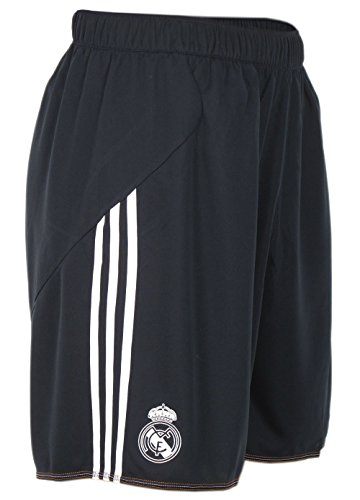 2013-14 Real Madrid Adidas Training Shorts (Black) -