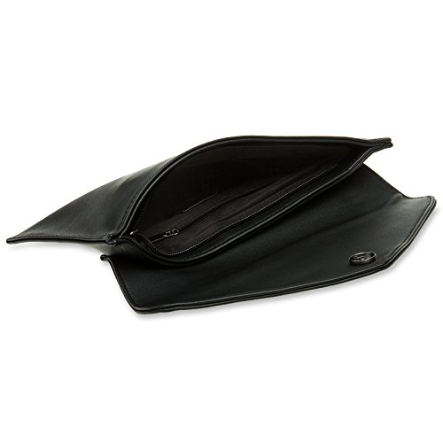 schwarz CASPAR TA310 Clutch Envelope Damen wx0q8xv