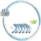 Dribotway Hoelahoep, voor volwassenen, afneembare hoelahoep, voor pijngevoelige en professionals, hoelabanden voor afvallen,