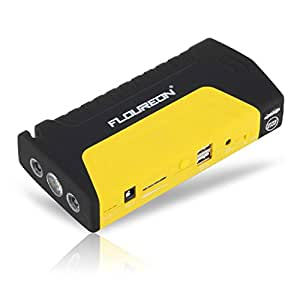 amazon floureon voiture auto jump starter booster portable 16800mah chargeur de batterie pour. Black Bedroom Furniture Sets. Home Design Ideas