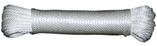 T.w. Evans Cordage 44–060 3/40,6 cm solide Braid Corde en nylon 100-feet Hank