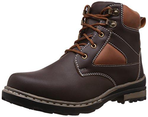 Vokstar Men's Brown Boots - 9 UK (V553)