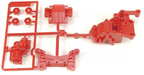 Preisvergleich Produktbild Tamiya 300050541 - TA01/02 Getriebegehäuse vorne, rot