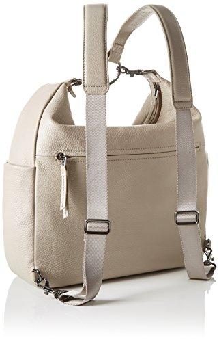 BREE Nola 6 S17, Sac à main à bretelles pour port en sac à dos Grau (cotton)