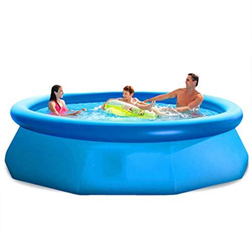 Mitrc piscina gonfiabile gigante del kiddie, piscina del centro di nuotata della famiglia per i bambini, adulti, cortile, stoccaggio all'aperto dell'acqua 3853l size120.1 * 30in