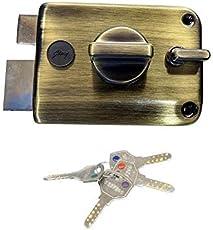 godrej Ultra XL+ Twinbolt 1CK DEADBOLT 4 Keys Antique Brass (Free Installation by GODREJ)