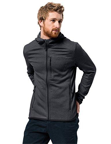 Jack Wolfskin Herren SKYLAND Hooded Jacket Men Elastisch Atmungsaktiv Warm Outdoor Kapuzen