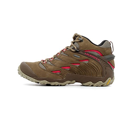 Merrell Womens/Ladies Chameleon 7 GoreTex Waterproof Mid Walking Boots
