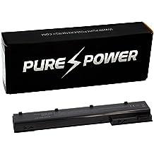 PURE⚡POWER® Batería del ordenador portátil para HP COMPAQ ELITEBOOK 8560W (14.8V, 4400 mAh, negro, 8 celdas)